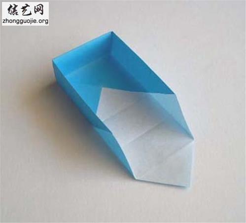 自己做纸盒 简单的手工折纸盒折纸制作图解╭纸的折法