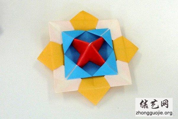 69 中国结艺网 69 折纸大全图解_纸花的折法图解 69 查看内容