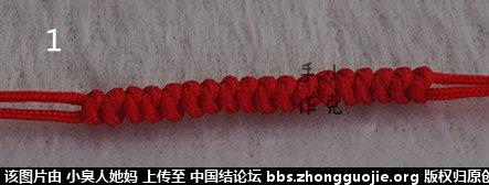 中国结论坛 一款简单红绳手绳----新手适合 中国 图文教程区 181422jhgwx7cmc77tcwc7
