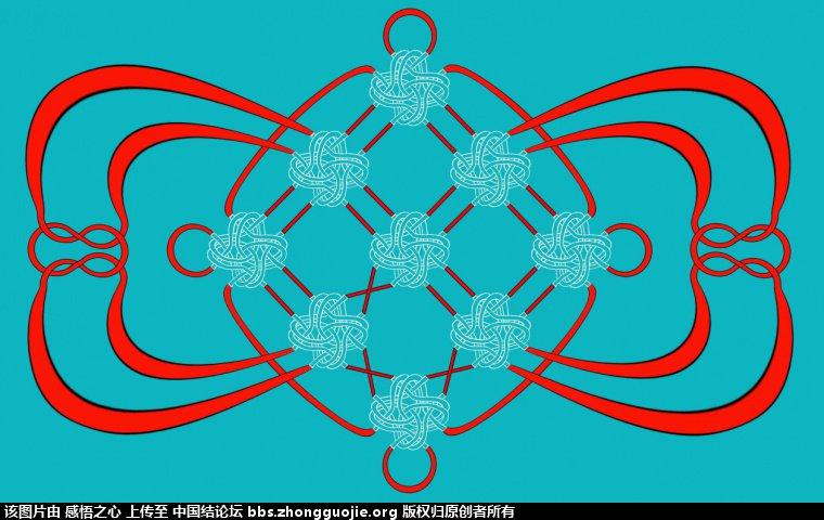 中国结论坛 【阅读简图】认识冰花结的简图 基础知识,示意图,中心 冰花结(华瑶结)的教程与讨论区 212030ihlznzif9ic7mizw