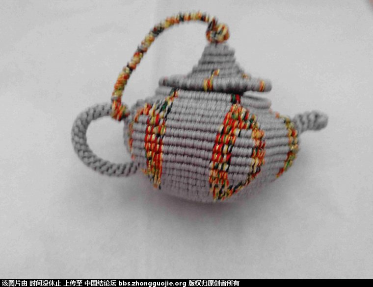 茶壶 爱心 小香槟-编法图解-作品展示-中国