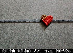 中国结论坛 我心永恒 心形饰品编法  转载转载转载 心形,手链 图文教程区 143325v812212v1vya3j28