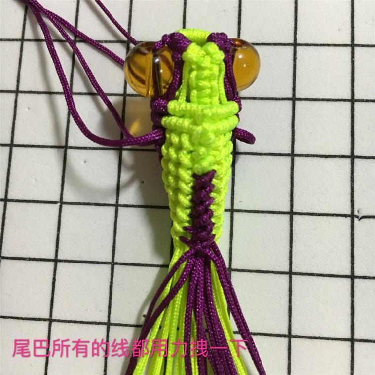 中国结论坛 两款小金鱼教程  立体绳结教程与交流区 101528ofz6b699z74476wf