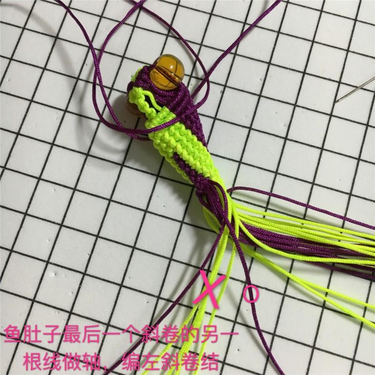 中国结论坛 两款小金鱼教程  立体绳结教程与交流区 101551ldkymnng46k5ck3z