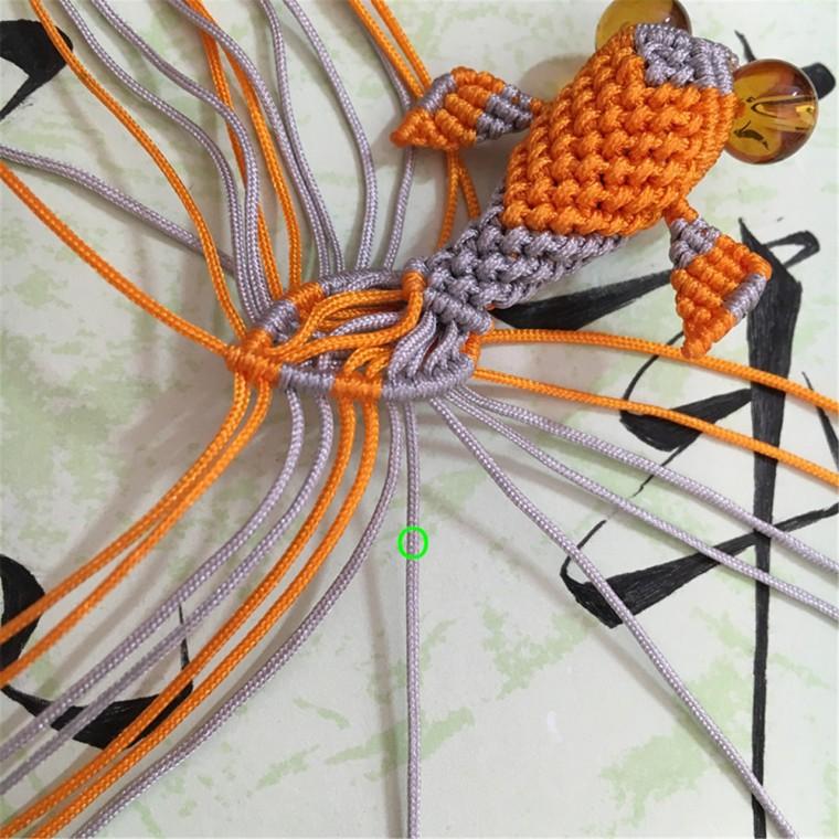 中国结论坛 两款小金鱼教程  立体绳结教程与交流区 101749uz9x12i35io5315r