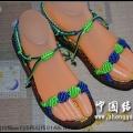 中国结凉鞋