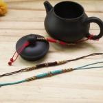手把壶绳子的编法图解,茶壶绳子绑法教程
