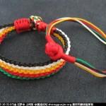 五彩绳的编织方法,简单端午节五彩绳编法图解