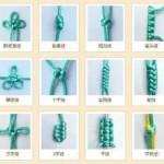 24种结绳法带图-2020年最新的文玩结绳打法