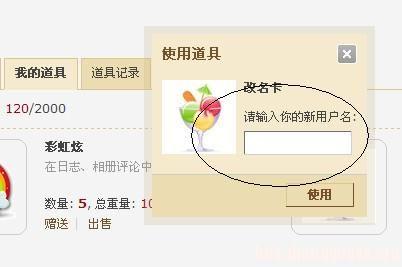 中国结论坛 第九课:自助修改论坛用户名及道具使用  论坛使用帮助 215949u2zu71tkg94dpkk1