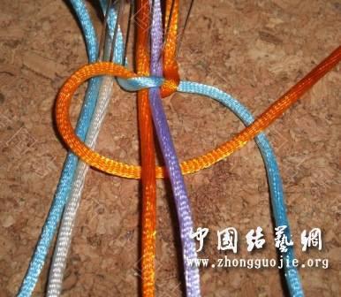 中国结论坛 一款适合初学者的红色手链  图文教程区 172535zwrzilnnan9r4go9