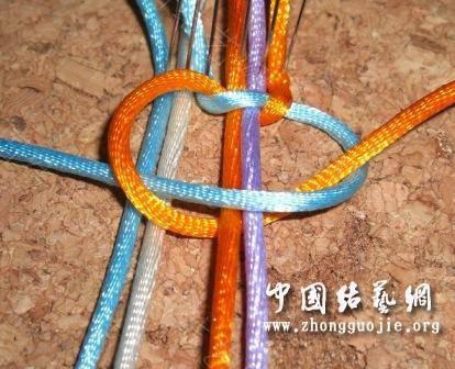 中国结论坛 一款适合初学者的红色手链  图文教程区 172539idk9mm41twmddsmt