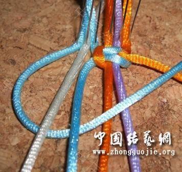 中国结论坛 一款适合初学者的红色手链  图文教程区 172540uoutaueuzgrmfw2w