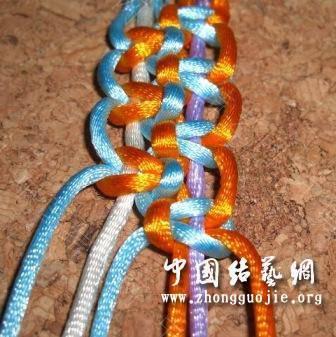 中国结论坛 一款适合初学者的红色手链  图文教程区 172807ffkz2m90ofqweouo