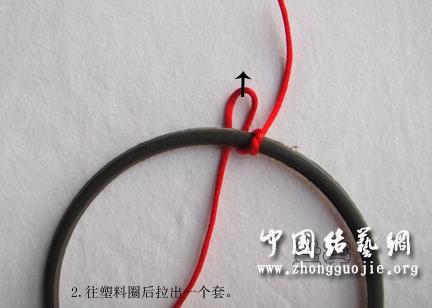 中国结论坛 花框边圈编制又一法  兰亭结艺 180502biz5gfdrx0kd45pg