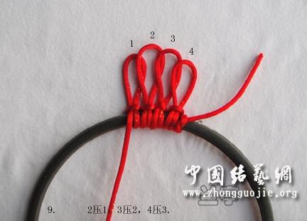 中国结论坛 花框边圈编制又一法  兰亭结艺 180510wxpcpr6yxjd4b0ax