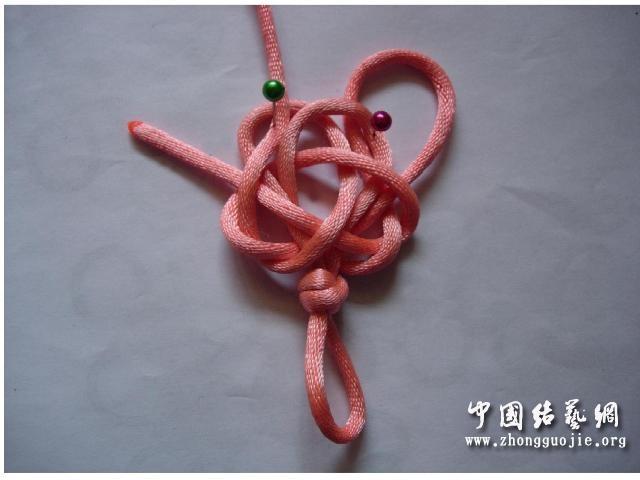 中国结论坛 四耳A型旋叶结单结练习3  冰花结(华瑶结)的教程与讨论区 101520q6rpkk00biziohzh