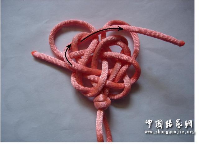 中国结论坛 四耳A型旋叶结单结练习3  冰花结(华瑶结)的教程与讨论区 1015270uk5op8utkammkkm
