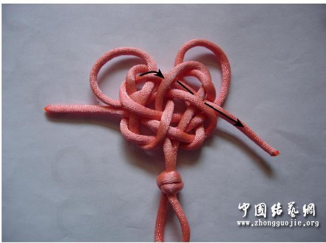 中国结论坛 四耳A型旋叶结单结练习3  冰花结(华瑶结)的教程与讨论区 1015280rqv444lg8z47r7c