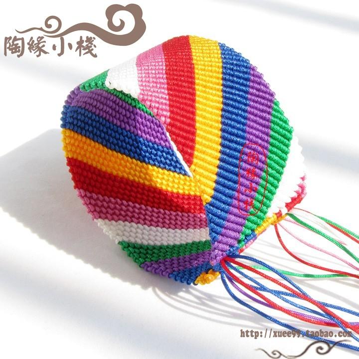 中国结论坛 七彩色 超宽版斜卷结手链  作品展示 123837davecgpd7j76jddn