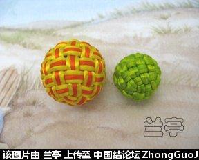 中国结论坛 两种小球走线图  兰亭结艺 235041ftppk5xtitv7t0fv