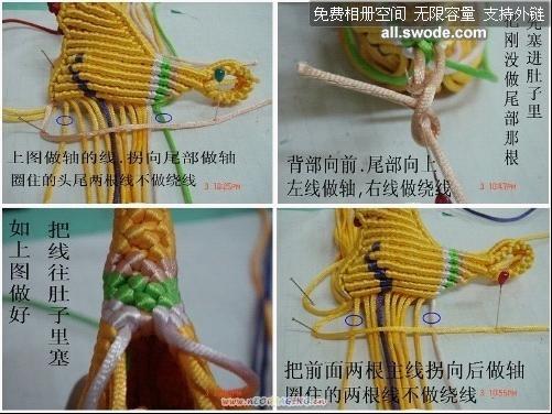 中国结论坛 转发鸳鸯的编法图解教程  立体绳结教程与交流区 111712tm0auym33ymvua33