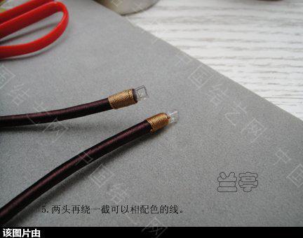 中国结论坛 绕线项圈的做法 项圈 兰亭结艺 153724r8ve8eh0hzq988le