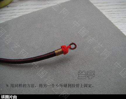中国结论坛 绕线项圈的做法 项圈 兰亭结艺 153737hj73a55a32u6u35h