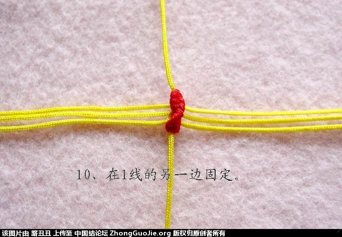 中国结论坛 路丑丑原创结艺教程-----小鸡(教程在一楼和三楼)  立体绳结教程与交流区 111914jzpx9fjpo551gtoh