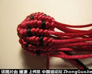 中国结论坛 5号线编的草莓教程  立体绳结教程与交流区 1618076p8f0380f3f33z4f