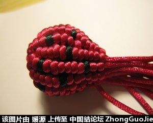 中国结论坛 5号线编的草莓教程  立体绳结教程与交流区 1618230d8ix8d8zbigb0b7