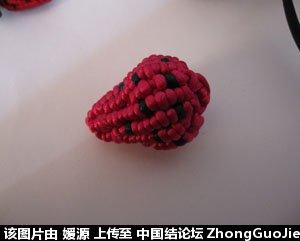 中国结论坛 5号线编的草莓教程  立体绳结教程与交流区 161832gczc8p9h9p3xp9oa