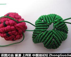 中国结论坛 5号线编的草莓教程  立体绳结教程与交流区 163525tw6oaomougozwisa