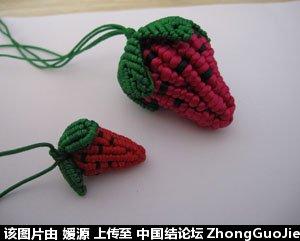 中国结论坛 5号线编的草莓教程  立体绳结教程与交流区 163528sb4dcqdrq6d6a1sm