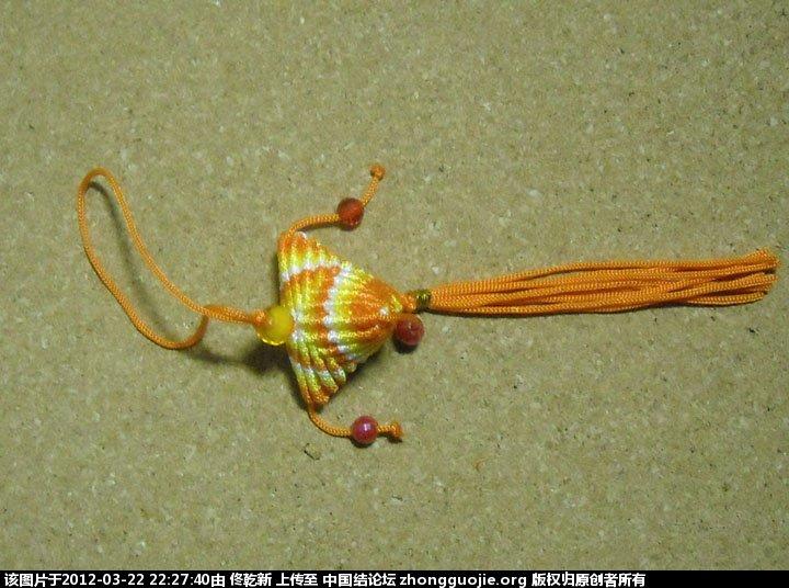 中国结论坛 粽子的制作过程  立体绳结教程与交流区 222715thhysqtxh822di28