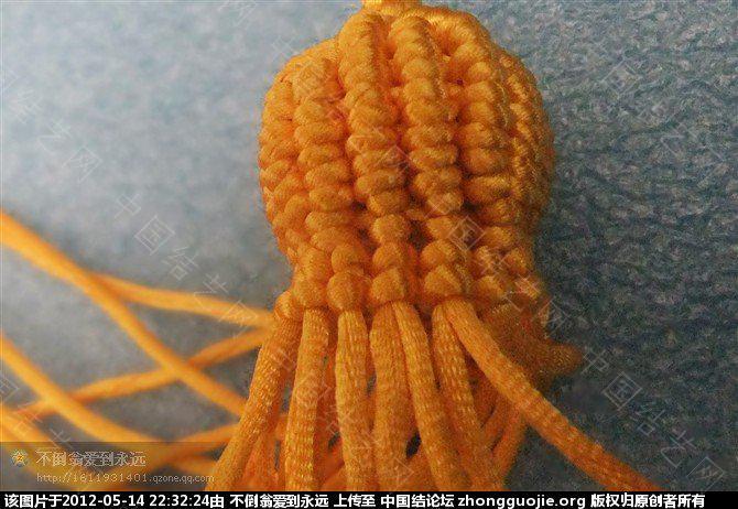 中国结论坛 可爱的小葫芦 葫芦,影响,吉祥,间隔 立体绳结教程与交流区 222829mnnmv5kmop1m50ne