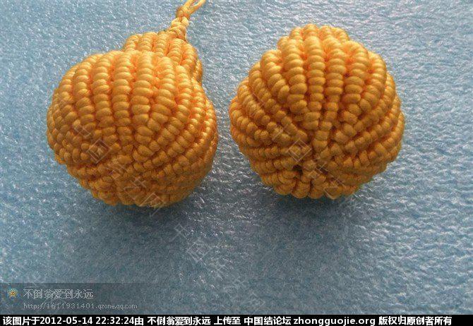 中国结论坛 可爱的小葫芦 葫芦,影响,吉祥,间隔 立体绳结教程与交流区 223036484whwndng9mkvbf