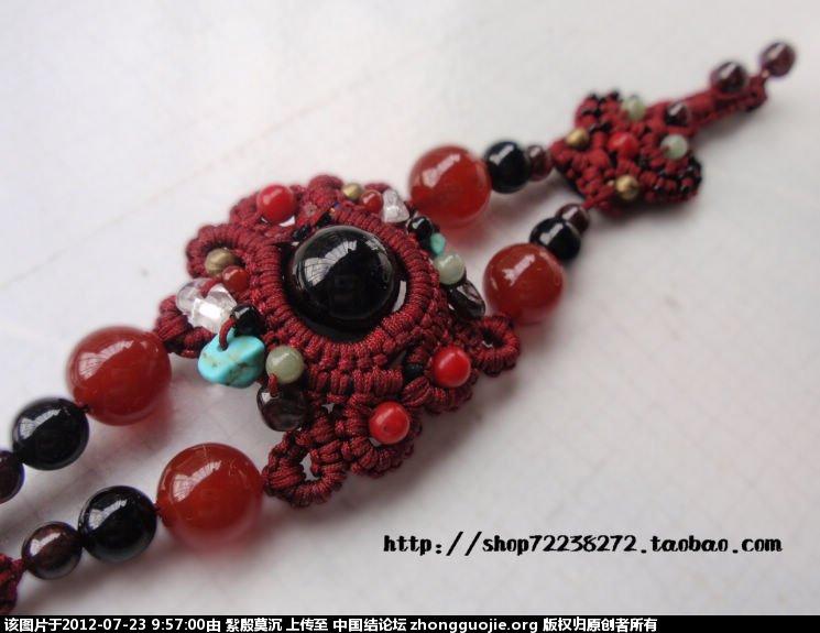 中国结论坛 你是我的眼------手链 手链 作品展示 095559wqp8d6k85b4b555j