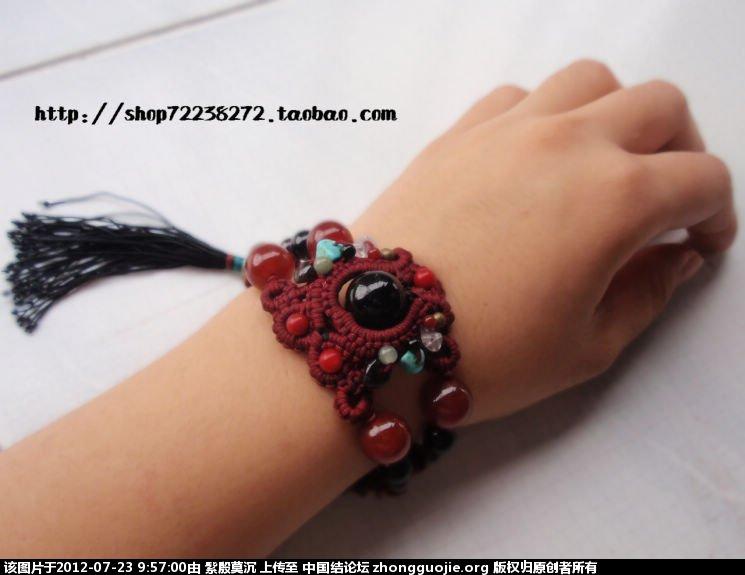 中国结论坛 你是我的眼------手链 手链 作品展示 095600l8qxjfypffmg9f88