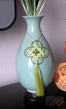 中国结论坛 瓶饰-最简单的套色冰花  兰亭结艺 124330xu0wwci15dy22udh