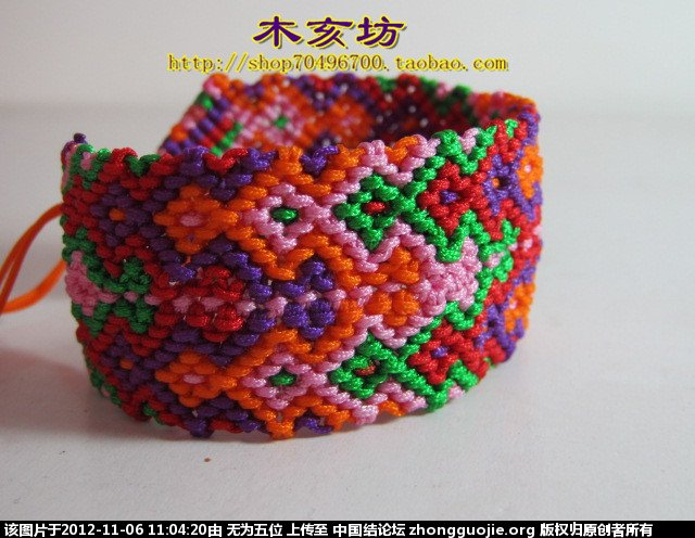 中国结论坛 七彩波纹手链(带图纸)  图文教程区 1103116lllo2w25zkl1wrl