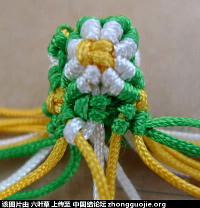 圣诞铃铛-编法图解-立体绳结教程与交流区-中国结
