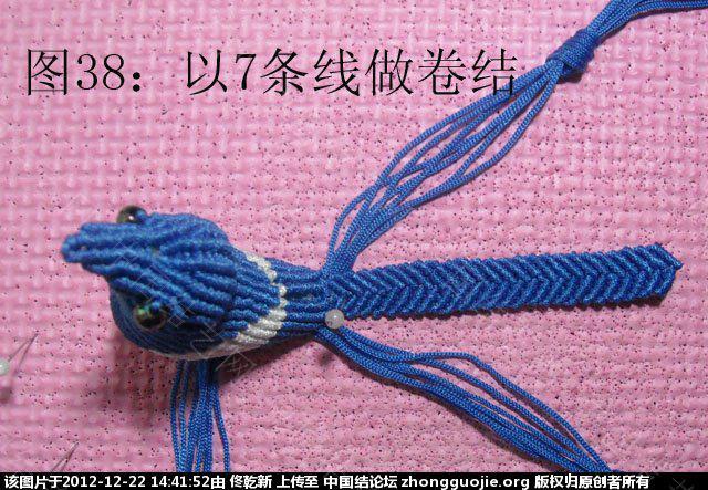 中国结论坛 喜鹊  立体绳结教程与交流区 1439073113z64ju9ks3djk