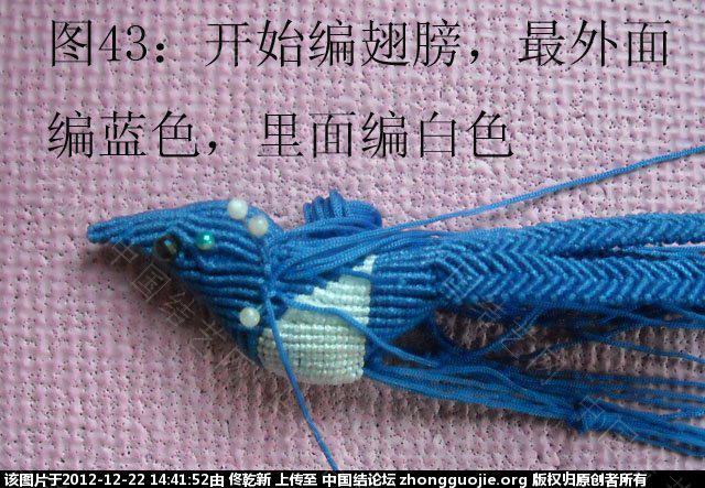 中国结论坛 喜鹊  立体绳结教程与交流区 143915zmz1x40924044264