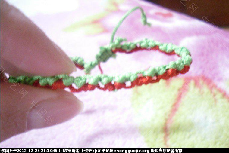 中国结论坛 圣诞节手链 圣诞节,手链 图文教程区 2110424wqmpoqpek4glqqb