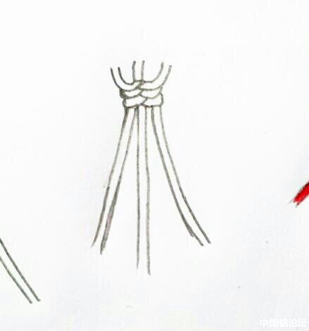 中国结论坛 蛇结波浪形玛瑙手链(新增手绘教程)  作品展示 164306u0g544i3cyypw0i3