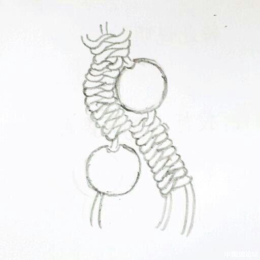 中国结论坛 蛇结波浪形玛瑙手链(新增手绘教程)  作品展示 164308ykksvh11nss24wrs