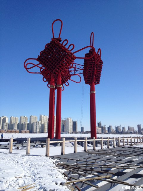 中国结论坛 全世界水上最大最重中国结 全世界,中国 中国结文化 194539i4yidxehetdyt04i