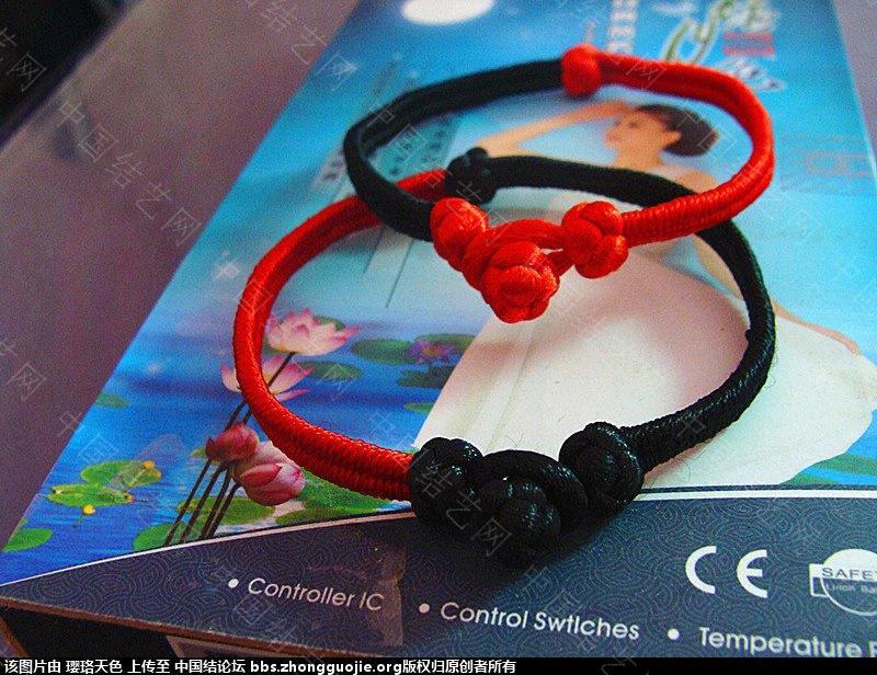中国结论坛 八字绕线镯式手链(应大家要求上教程) 八字,手链 作品展示 16582005z6wbhgbzwwjm61