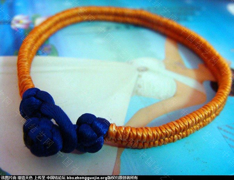 中国结论坛 八字绕线镯式手链(应大家要求上教程) 八字,手链 作品展示 170021jh225e7g2guw7n23